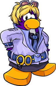 Club Penguin Dot Mascot