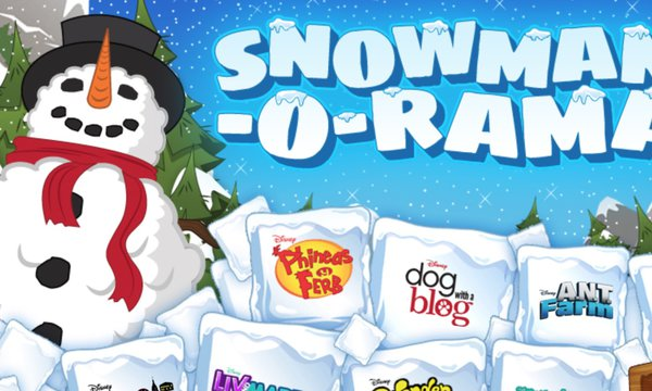 Disney Channel Snowman-O-Rama