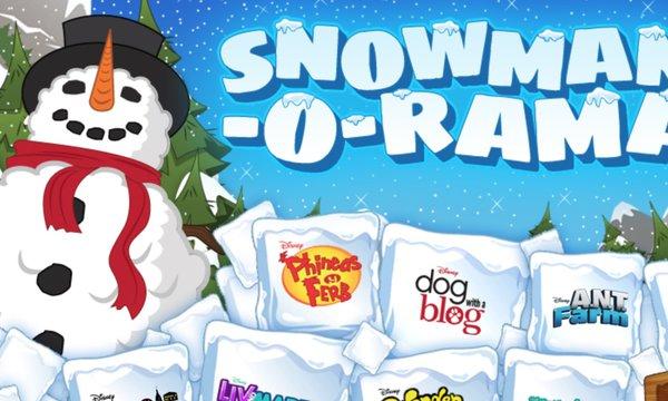 Disney Channel Snowman-O-Rama
