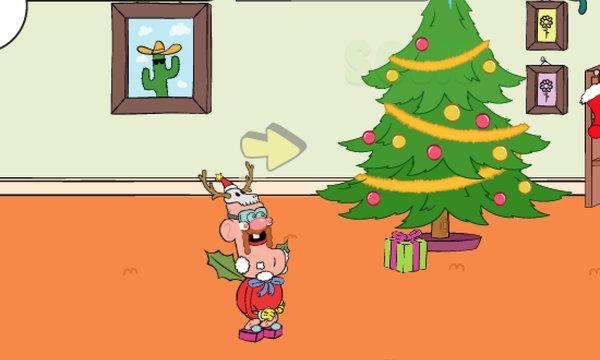 Sneakin' Santa Game