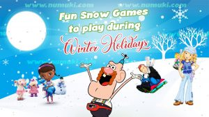 Snow Games for Winter Holidays