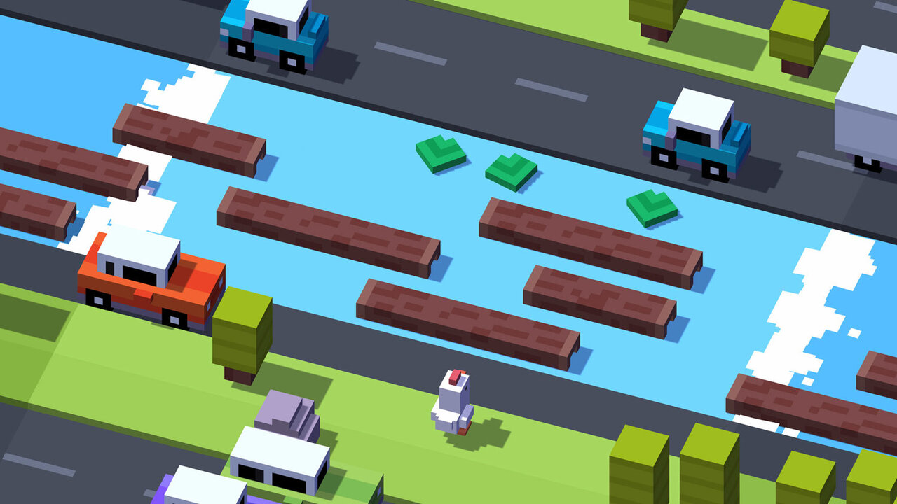 Crossy Road Game Banner