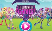 Play MLP Equestria Girls: Archery Friendship Games | NuMuKi