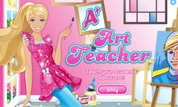 Play Barbie: A+ Art Teacher | NuMuKi