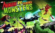 Avengers vs. Gamma Monsters