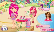 Play Strawberry Shortcake: Berry Cool Beach Party | NuMuKi