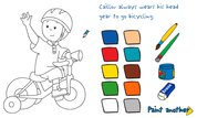 Play Coloring with Caillou   NuMuKi