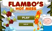 Play Adventure Time: Flambo's Hot Mess | NuMuKi