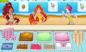 Play Winx Club: Gardenia Ice-Cream Shop | NuMuKi