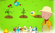 Gardening with Caillou