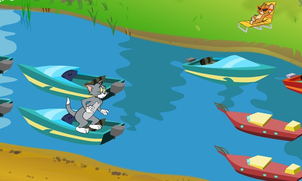 Tom&Jerry: Cat Crossing game