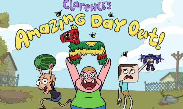 Play Clarence`s Amazing Day Out!