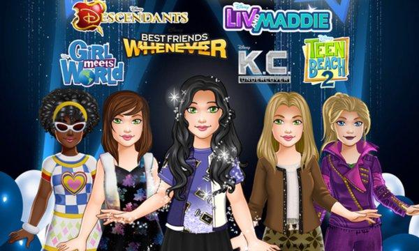 Play Disney Channel Photo Shoot
