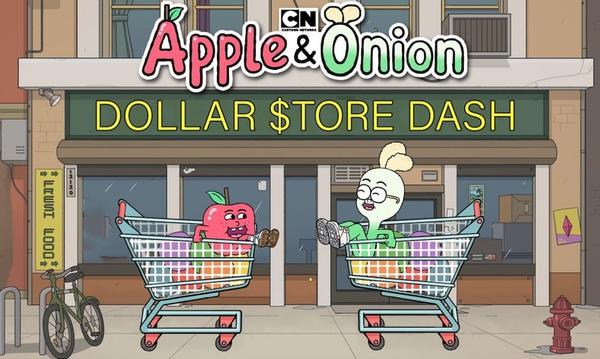 Apple & Onion: Dollar Store Dash game