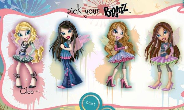 Bratz: Fashion Pixiez Party game