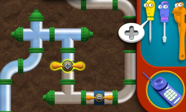 Play Manny's Puzzle Pipes