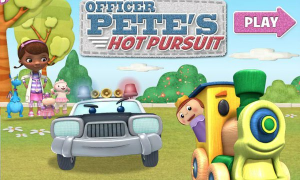 Play Officer Pete`s Hot Pursuit