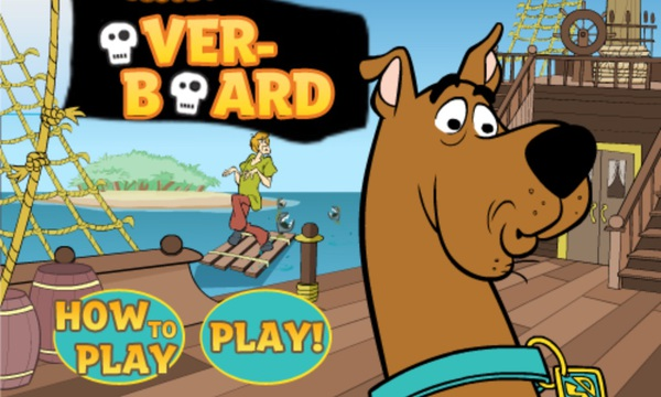 Scooby-Doo: Over-Board game