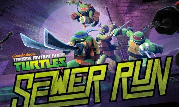 Teenage Mutant Ninja Turtles Sewer Run Numuki
