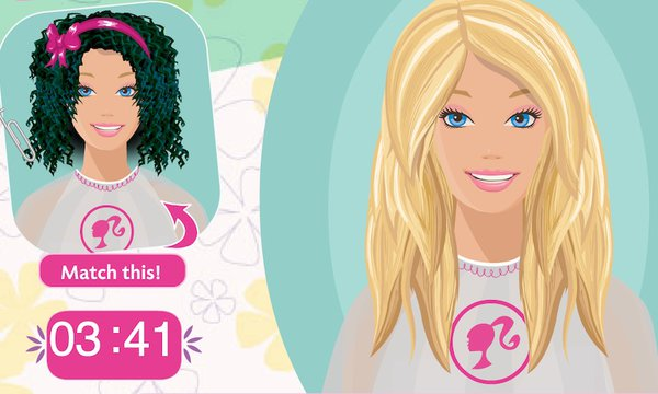 Barbie: Snip 'n Style Salon