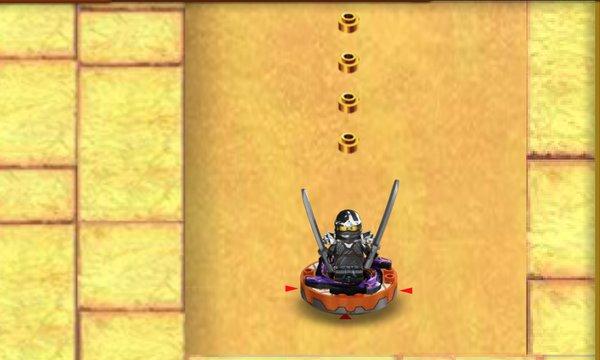 Play Spinjitzu Spinball Snake Invasion