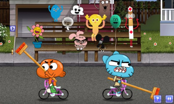 Play The Gumball Games