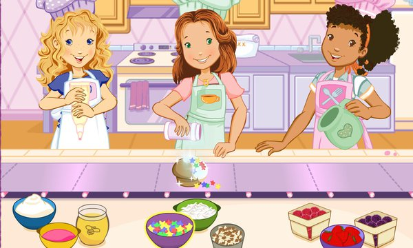 Play The Hey Girls Muffin Maker