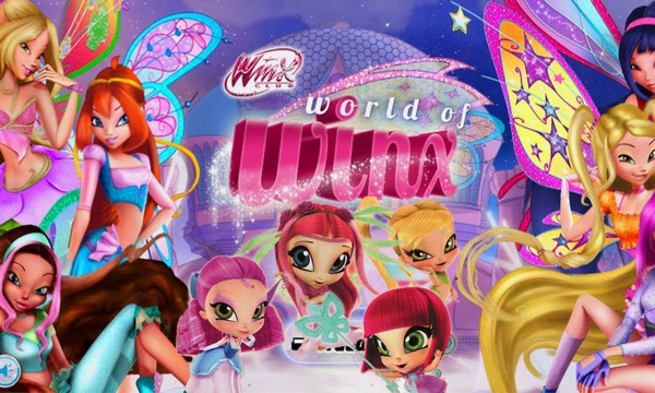 World of Winx game