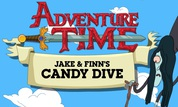 Play Adventure Time: Jake & Finn's Candy Dive | NuMuKi