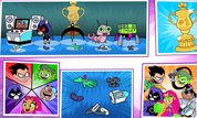Play Teen Titans Go!: Jump Jousts | NuMuKi
