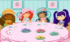 Play Strawberry Shortcake: Mind Your Manners - Tea Party | NuMuKi