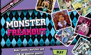 Play Monster High: Monster Freakout | NuMuKi