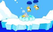 Play Parachute Penguin Shootout | NuMuKi