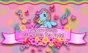 Rainbow Dash's Glamorous Tea Party