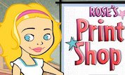 Play Rose`s Print Shop
