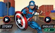 Play Captain America: Shield Strike | NuMuKi