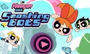 Play The Powerpuff Girls: Smashing Bots | NuMuKi