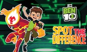 Play Ben 10: Spot the Difference | NuMuKi