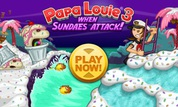 Play Papa Louie 3: When Sundaes Attack | NuMuKi