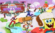 Play Nickelodeon: Winter Spin & Win | NuMuKi