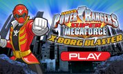 Play Power Rangers Super Megaforce: X-Borg Blaster | NuMuKi
